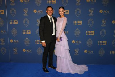 Usman Khawaja and Rachel McLellan