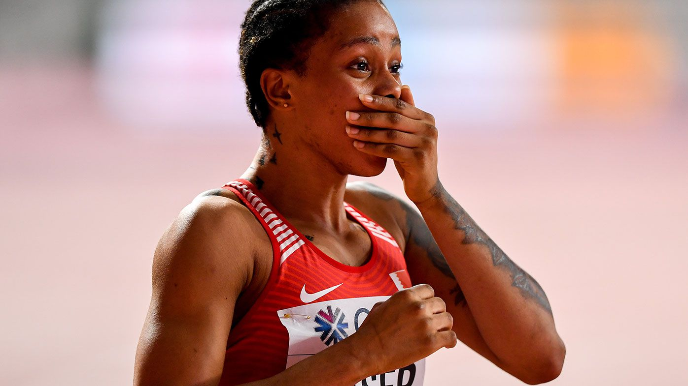 World champion sprinter cops two year drugs ban after setting fastest 400m time in 36 years