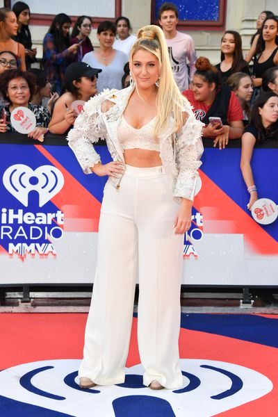 Meghan Trainor in The Blonds at the 2018 iHeartRADIO MuchMusic Video Awards in Toronto, Canada