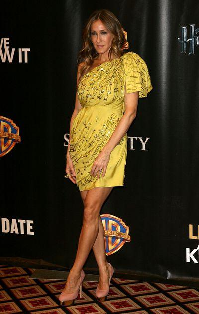 Sarah Jessica Parker at Warner Bros. Pictures' 'Big Picture 2010' in Las Vegas, 2010