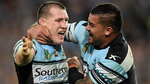 Paul Gallen and Andrew Fifita