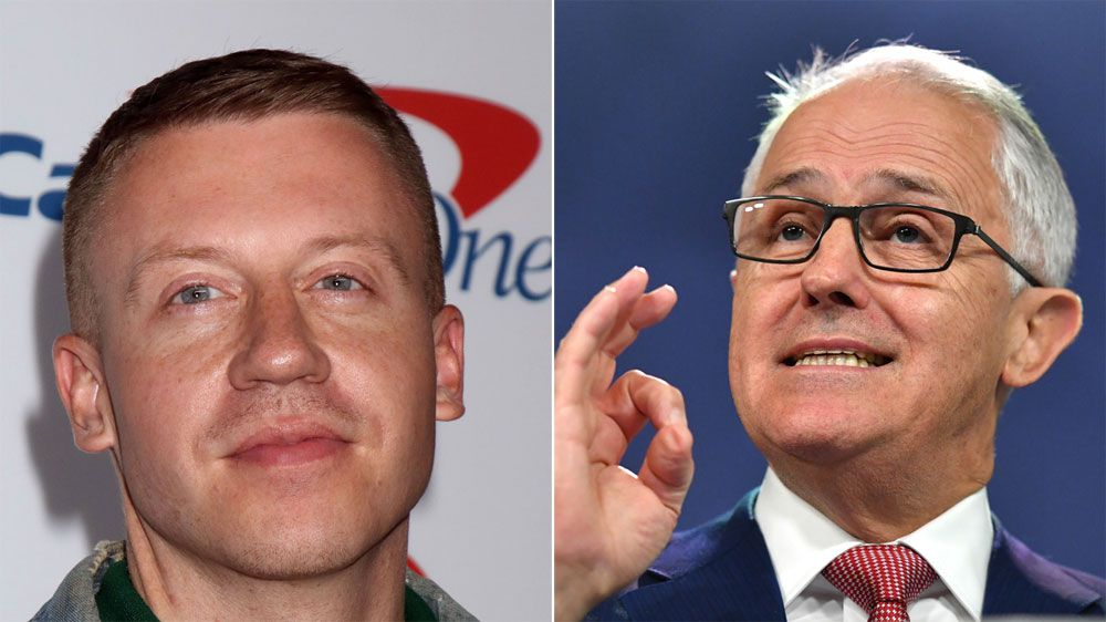 Prime Minister Malcolm Turnbull has no problem with Macklemore performing gay anthem at NRL Grand Final