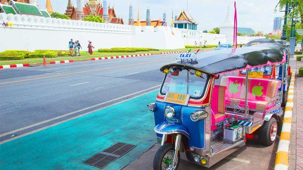 Thailand tuk tuks and palaces