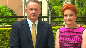 'A lot to offer': Hanson welcomes Mark Latham to One Nation