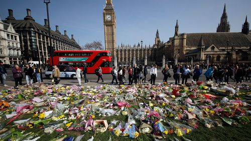 It has been one year since the Westminster Bridge terror attack. (AAP)