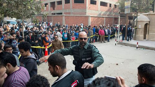 The attack is the latest believed to be targeting Christians in Egypt. (AAP)