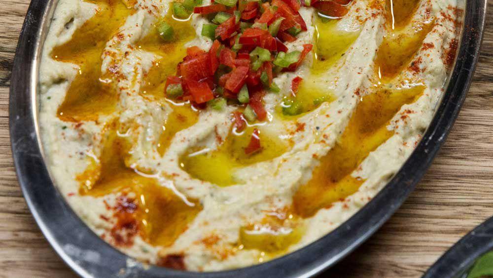 The Shahrouk's babaghanoush