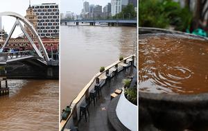 Dust storms and floods wreak havoc across Victoria