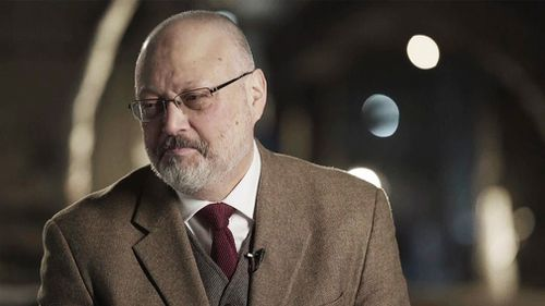 After the journalist disappeared, Saudi Arabia initially insisted Khashoggi had walked out of the consulate after visiting the building on October 2.