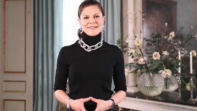 Crown Princess Victoria opens Stockholm Fashion Week with video message