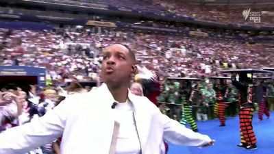 World Cup closing ceremony featuring Will Smith and Ronaldinho gets mixed reviews