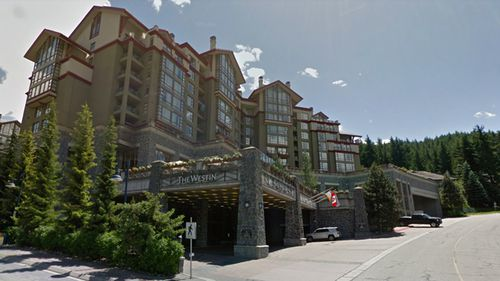 Westin Spa and Resort in Whistler, where Alison Raspa failed to show up for work on the morning of November 23. (Google Maps)
