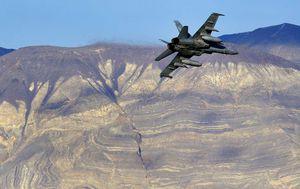 US fighter jet crashes in Death Valley, seven park visitors hurt