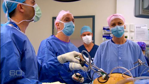 The operation removes up to 90 per cent of the stomach. (60 Minutes)