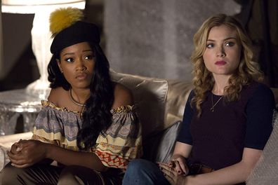 Keke Palmer and Billie Lourd in Scream Queens.