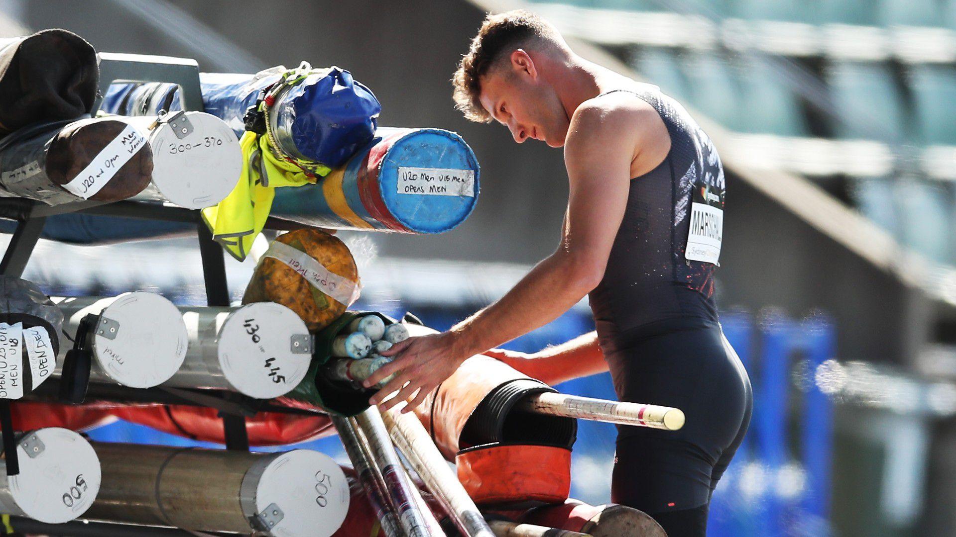 Aussie athletics team forced into isolation