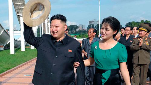 Ri Sol Ju will cross the North Korean border to have dinner in the South following peace talks on Friday. (AAP)