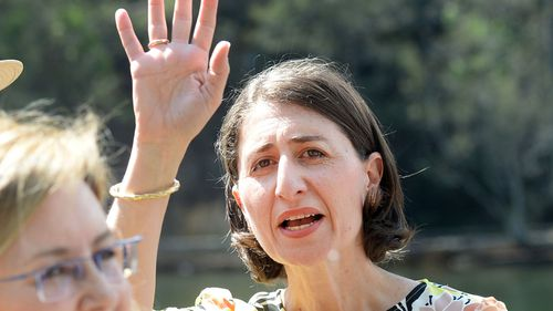 NSW Premier Gladys Berejiklian pounced on the news just seven weeks out from the election.