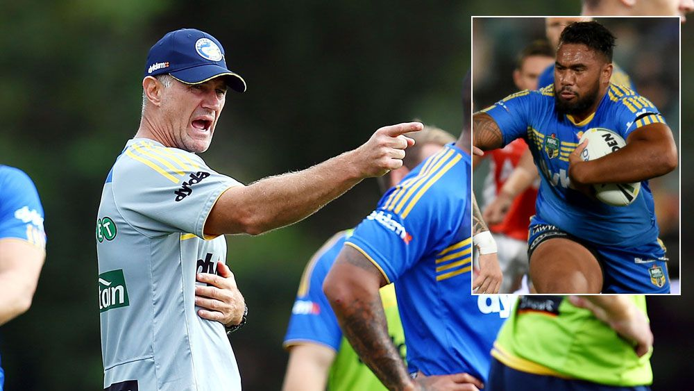 Brad Arthur and (inset) Junior Paulo. (Getty and AAP)