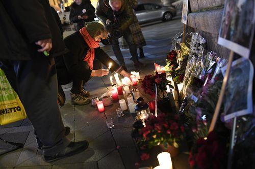 A memorial to the two women in Copenhagen, Denmark.