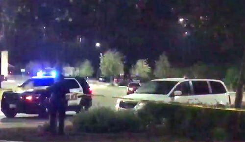 Eight people were found dead inside a truck at a Walmart parking lot in Texas. (Jack Acosta/Twitter)