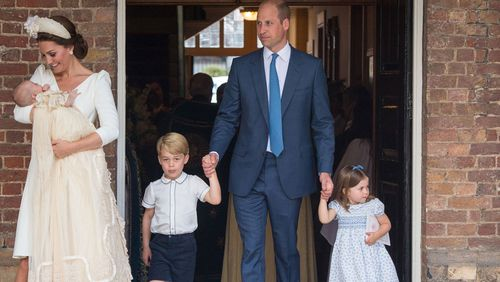 The new baby is cousins with Prince George, Princess Charlotte, and Prince Louis.