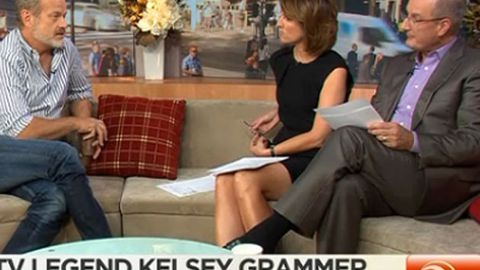 "Kelsey Grammer blasts Sunrise producer as ""sick dog"""