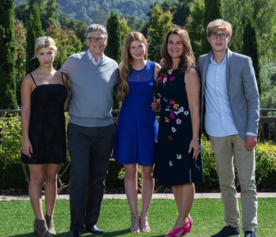 Bill and Melinda Gates' children