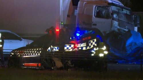 Eastern Freeway driver 'told boss he was delusional' before fatal crash