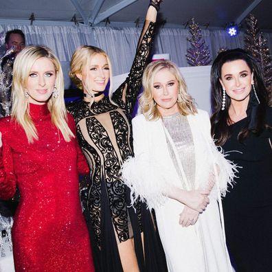 Kyle Richards, Paris Hilton, Nicky Hilton Rothschild, Kathy Hilton