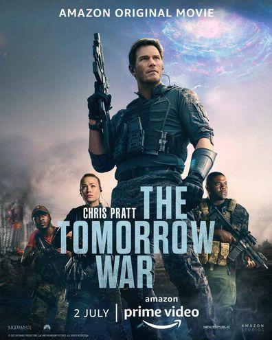Chris Pratt and Yvonne Strahovski star in The Tomorrow War.