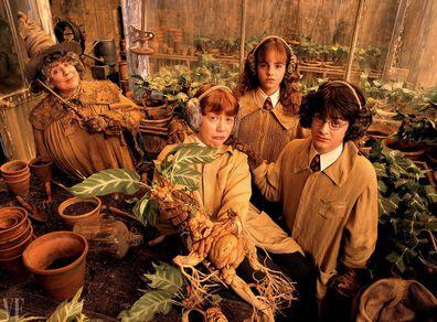 Harry Potter, Miriam Margolyes, Daniel Radcliffe, Emma Watson, Rupert Grint