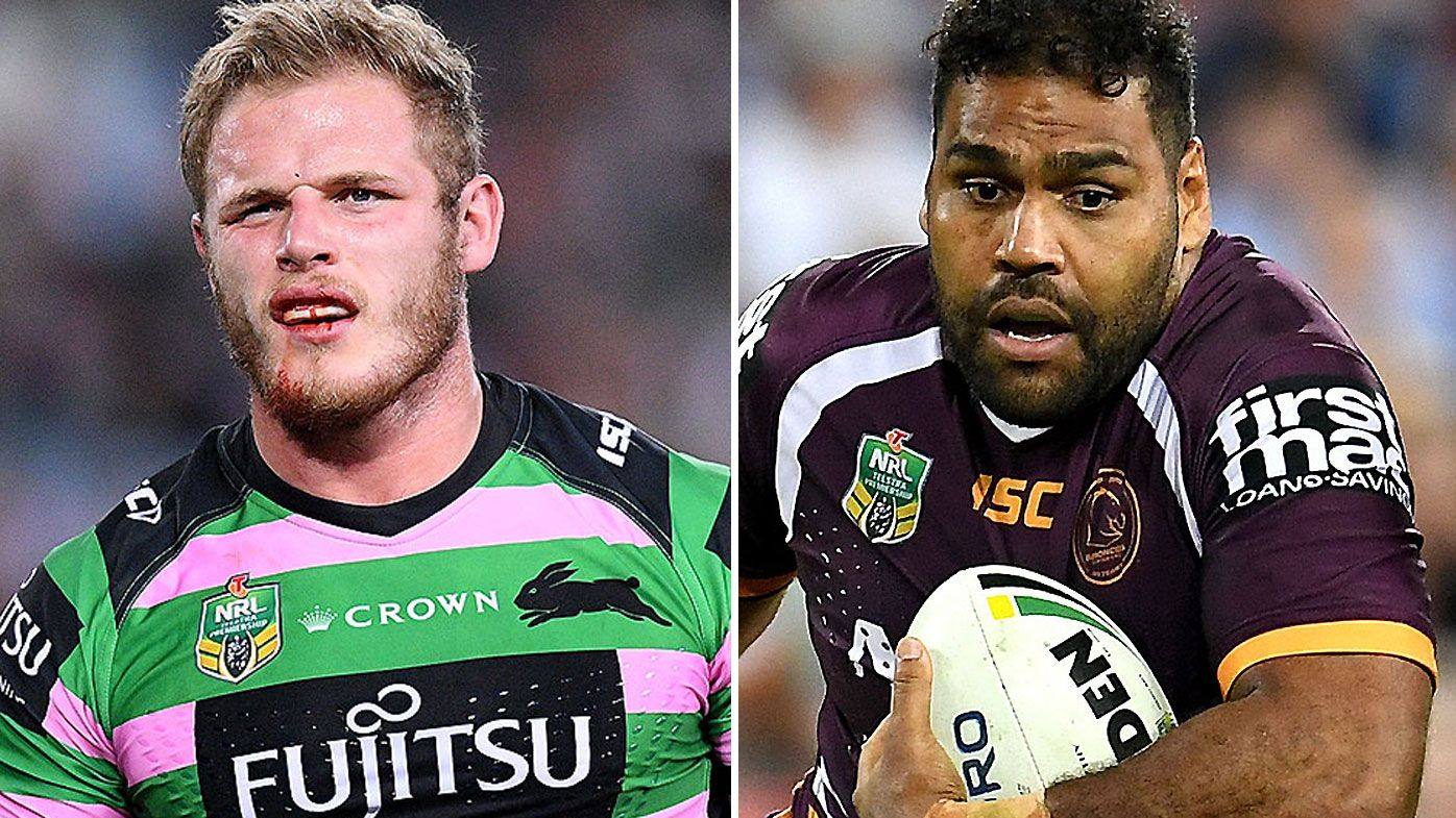 Tom Burgess and Sam Thaiday
