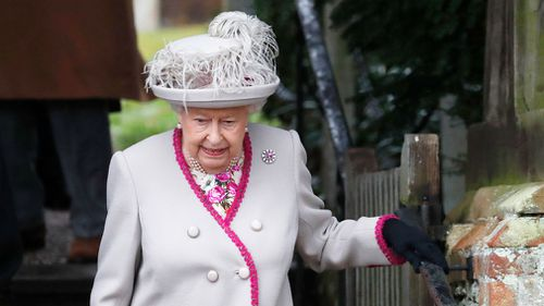 """Closer to home, it's been a busy year for my family, with two weddings and two babies and another child expected soon,"" the Queen said before adding a touch of humour to her televised address."