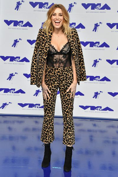 Arielle Vandenberg at the 2017 MTV VMAs in LA, August 27.