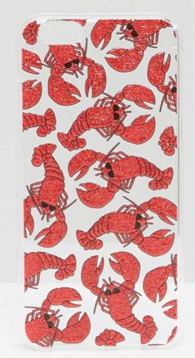 "Skinny Dip Lobster iPhone 6/6s case, $28 at <a href=""http://www.asos.com/au/skinnydip/skinnydip-lobster-iphone-6-6s-case/prd/6812674?iid=6812674&clr=Multi&SearchQuery=lobster&pgesize=6&pge=0&totalstyles=6&gridsize=3&gridrow=1&gridcolumn=1"" target=""_blank"">Asos</a>"