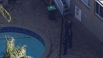 An elderly man's body has been found in his backyard pool in Sydney's south.