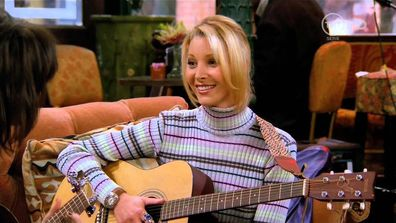 Lisa Kudrow, Phoebe, Smelly Cat, Lady Gaga, duet, reunion, Friends