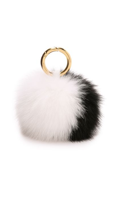 "<p><a href=""http://www.shopbop.com/fur-pom-keychains-iphoria/vp/v=1/1545987933.htm?folderID=2534374302024667&amp;os=false&amp;colorId=22217&amp;extid=affprg_CJ_SB_US-5495061-ShopStyle.com&amp;cvosrc=affiliate.cj.5495061"" target=""_blank"">Fur Pom Bag Charm, $84.76, Iphoria at Shopbop</a></p>"