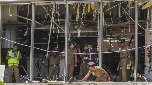 Explosions occurred in eight different locations in Sri Lanka.