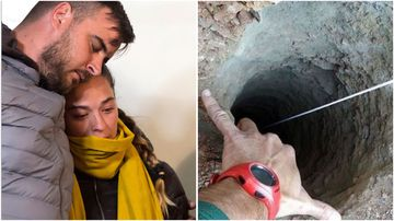 Jose Rosello and Victoria Garcia are anxiously waiting as rescue teams get closer to finding their two-year-old son Julen, trapped down a narrow well.