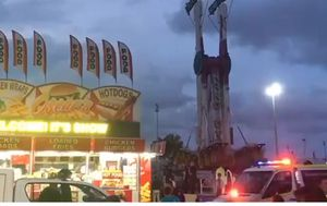 Woman critical after falling 30m from amusement park ride in Cairns