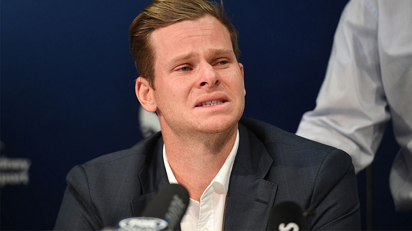 Steve Smith 'absolutely devastated' in emotional press conference following ball-tampering scandal