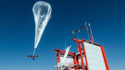 Google parent uses balloons to turn on internet for remote areas
