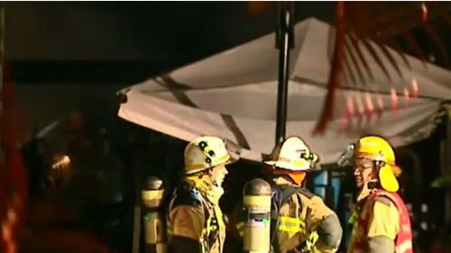Crews are investigating the cause of the blaze. (9NEWS)