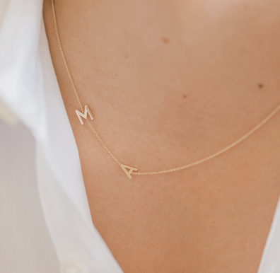 Necklace dupe for J.Lo's BEN jewellery.