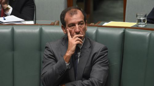 Special Minister of State Mal Brough in parliament in 2015. Picture: AAP