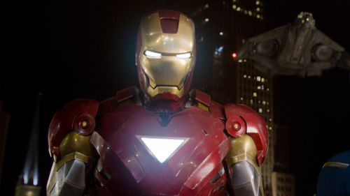 Fans pointed out that Iron Man stopped making war materials. (AAP)