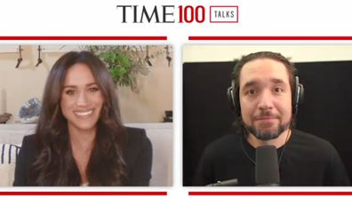 Meghan Markle interviews Alexis Ohanian for the Time100 Talks