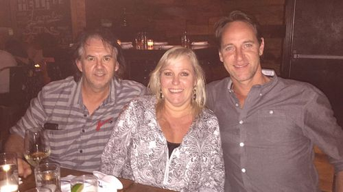 Simon Byrne, Jacqui Wilson and Andrew Wilson were driving up from Washington DC when they saw the crash.